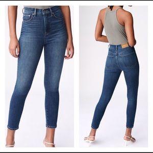 Aritzia Denim Forum The Lola High Rise Jeans